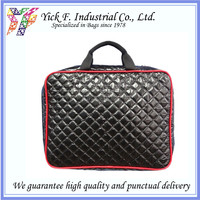 Executive PU Qulited 15 inch Portfolio Laptop bag