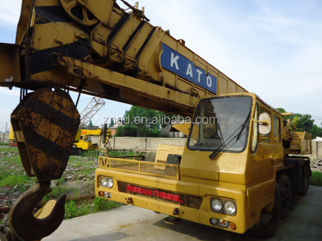 used truck crane Original japan kato 50kt-4 excellent working condition