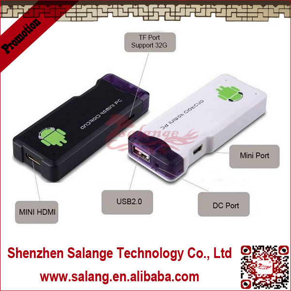 Wholesale alibaba Cheapest mini pc mk802 1GB ram <strong>1</strong>.6GHz android stick 4. <strong>1</strong> google smart tv box By Salange