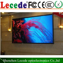 p7.62 text/character/letter P7.62 wireless color led display /sign board monocolor moving message