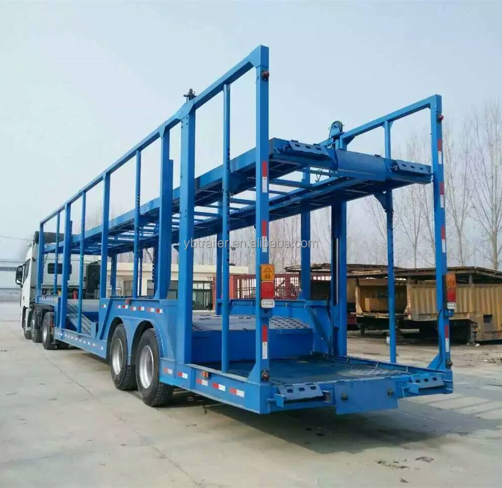 40 tons capacity cargo truck trailer for car transport