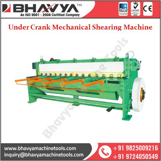 Commonly Used Under Crank Mechanical Shearing Machine