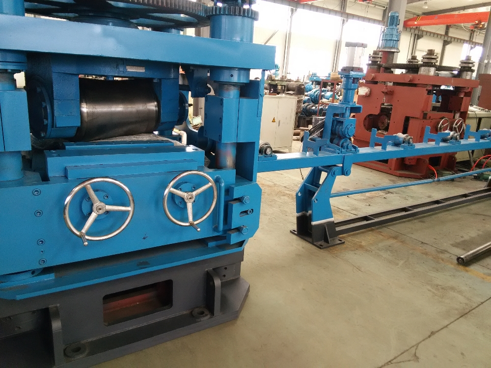 two-roller leveling machine production line for bar