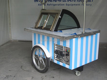bicycle ice cream cart mobile electric ice cream cart