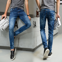 New model branded jeans low price jeans men open crotch jeans