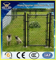 High Zinc Coating Galvanised Chain Link Fence