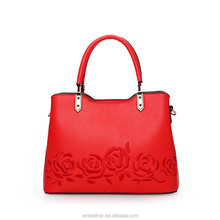 L-010 2018 Latest New Design Red Shoulder Crossbody Bag Chinese Style Embroidery Handbag