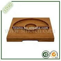 Fancy And High Quality Bamboo Serving Tray Sushi Serving Boat Plate
