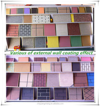 Water-based natural real stone effect paint for external wall