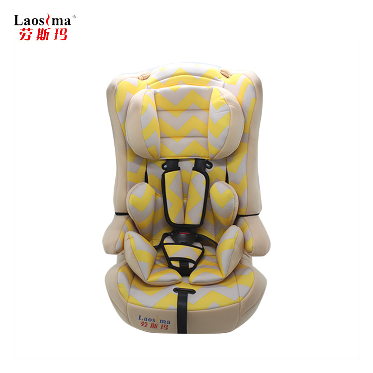 Can be customized car racing baby car safety seat