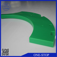impact resistance plastic machinery part, customized UHMWPE/ HDPE parts