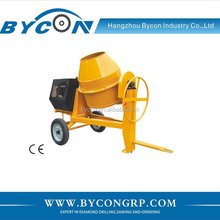 BC-350-4 350L Honda 4000W power out large drum concrete mixer machine lowes cement mixer price