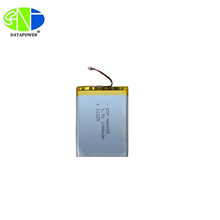 3.7v 2800mah li ion polymer battery 406885 rechargeable lithium ion polymer battery with PCM