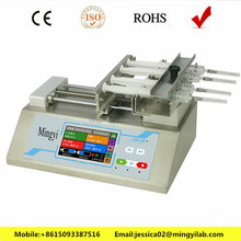 Laboratory multi-channel syringe infusion pump