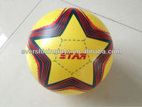 inflatable football/printed soccer/pvc toy football