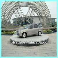 beautiful hydraulic car elevator for exhibition