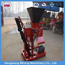hengwang lightweight foamed solid concrete block and wall panel making machine