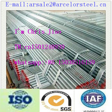 Trade assurance AAA Grade A53 Galvanized Welded Steel Pipes White Schedule 40 pipes