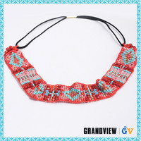 Sell well new type lace headbands with flower hot