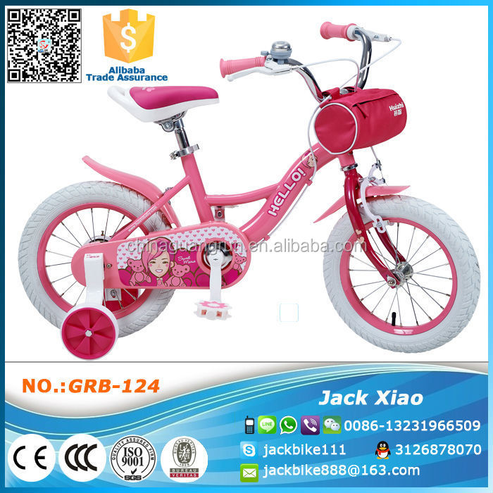 2016 china alibaba new kids bicycle manufacture baby bike child bicycle from hebei