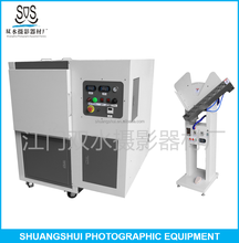 Automatic hot melt glue book binding & pressing machine for photo book album making