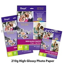 High Glossy inkjet photo paer with special price