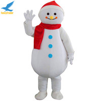 Adult Christmas Dress Large snowman decorations frosty Snowman Mascot Costume