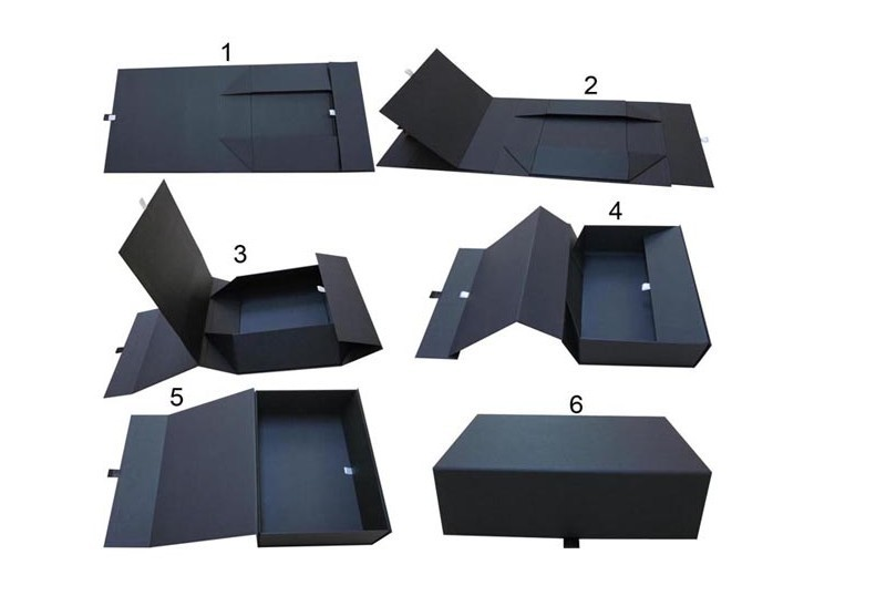 Direct factory gift box sets folding box gift with magnetic closure