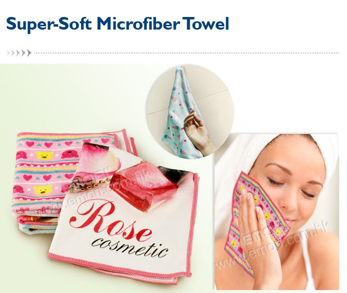 Gift Item Super Soft Microfiber Hair Towel