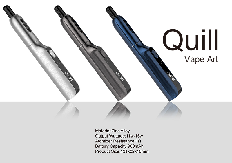 New Arrival Vape Pen OVNS Quill Pure Taste Vape For Smoke