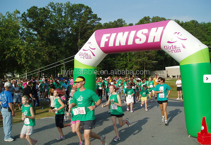 Party/event/promotion decor large air arch inflatable arch for marathon
