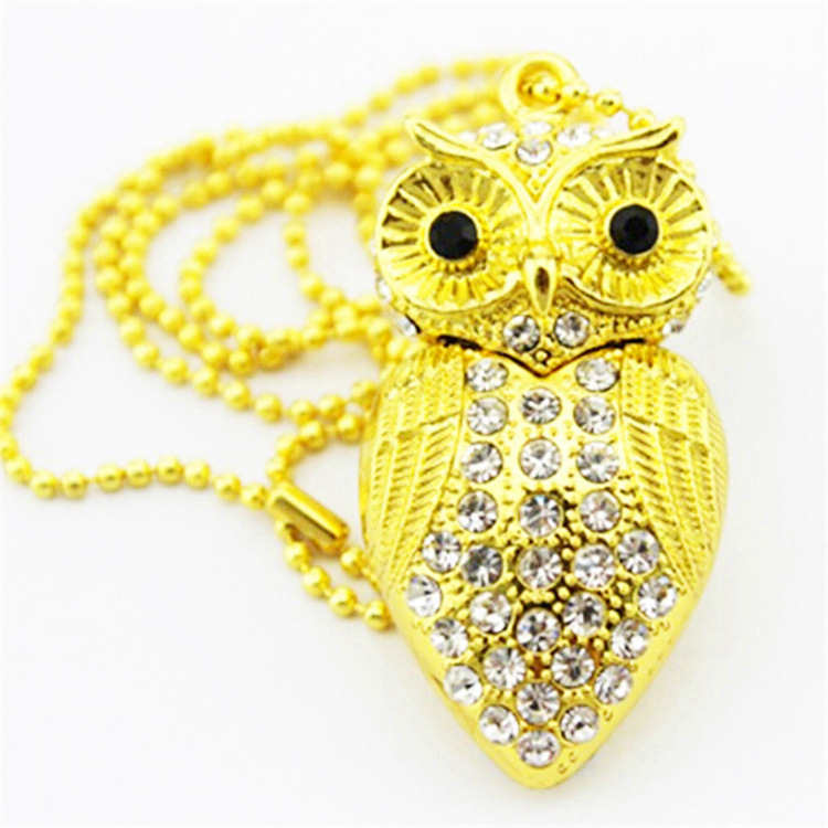 Animal Jewelry The owl shape USB Thumb Drive 512mb