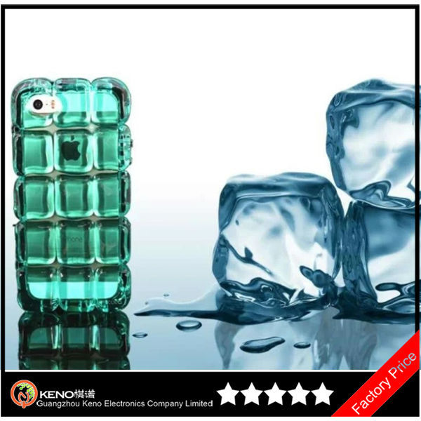 Fashion Ice Block Phone 5 5G Case Ice Block Case For iPhone5 5s 5g Cover