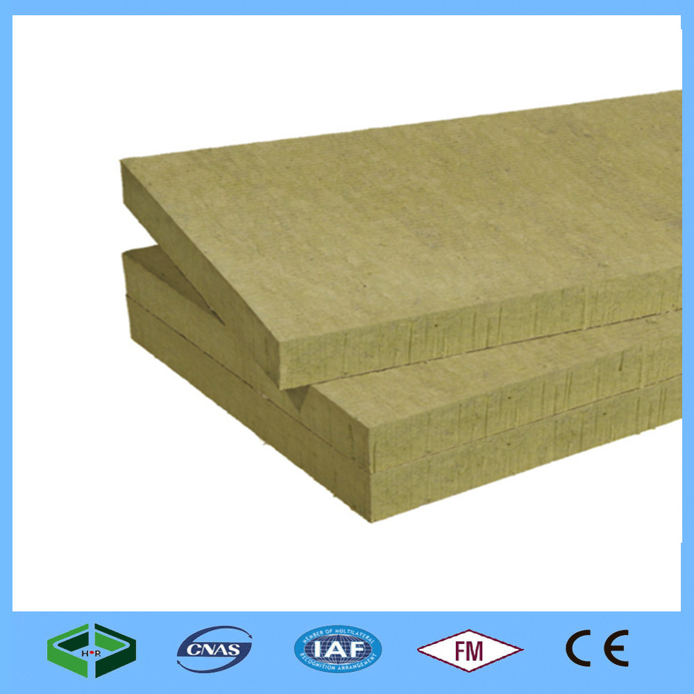 50mm Fireproof Rockwool Insulation Board Hydroponic Rock Wool