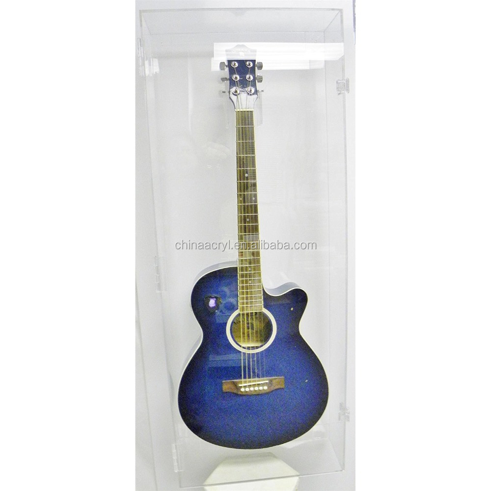Acoustical Acrylic Guitar Display Case