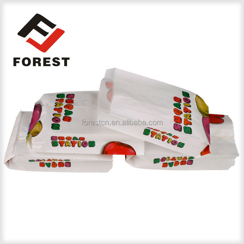 Food paper bag factory supply small paper bags for sweets