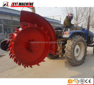 High Quality Wholesale Custom Cheap Ditching Width 10 to 100cm compact disk type trencher