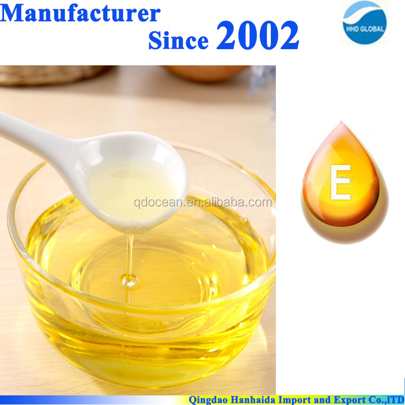 HOT SALE!!!factory supply bulk Pure natural Vitamin E oil with reasonable price