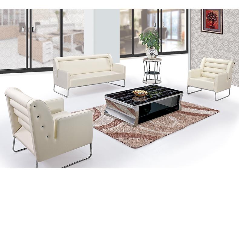 Liansheng Meubles Moderne Bureau Salon Canapé, Bureau Canapé En Cuir  Ensemble