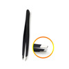 BST-05 Extension Pinzette Double Eyelid Sticker Application Eyes Hair Removal Tool Make Up Black Eyebrow Tweezer