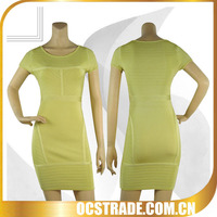 yellow plus size faction evening dress