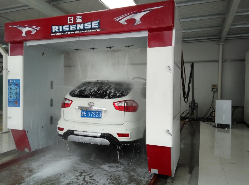 Automatic touch free car washing system manufacture factory