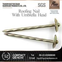 3-inch umbrella head roofing nail from northern supplies