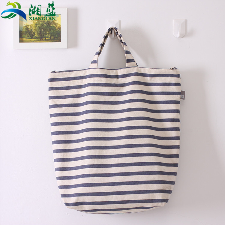 Widely used superior quality cotton canvas tote shopping bags with logos
