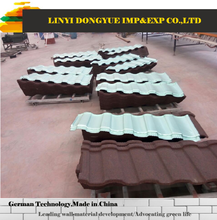 Brand new Type of roofing shingles/stone coated roof tile with 30 years guarantee made in China