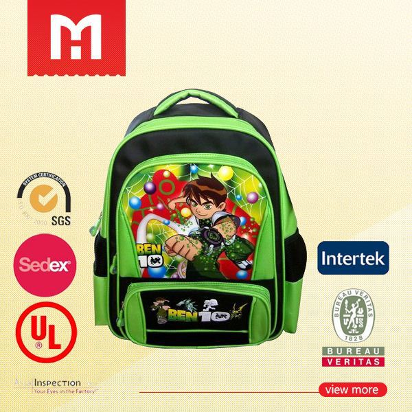 Customized designed school bag manufacturer