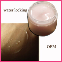Rose watery cream with frost moisturizing whitening gel for dry skin