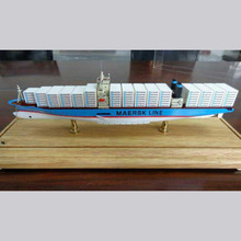 3d metal 1/100 scale cargo ship model boat 1/200 container ship model for display