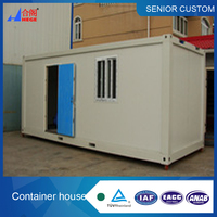 Movable container house for office