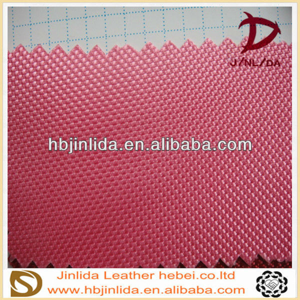 new 2013 calendering pvc imitation leather cloth for student bags